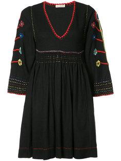 платье мини с вышивкой Ulla Johnson