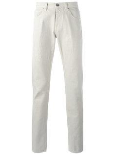 классические прямые брюки Eleventy