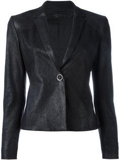 кожаный пиджак Drome