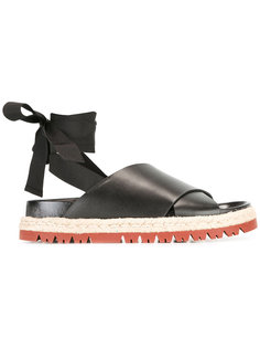 сандалии с завязками на щиколотках Marni