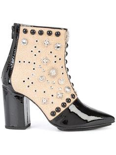 ботинки по щиколотку с заклепками Toga Pulla