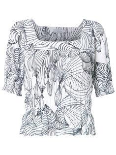 printed blouse Isolda