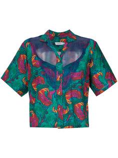 floral print shirt Isolda