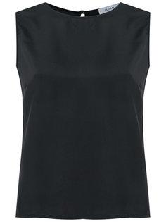 sleeveless silk blouse Isolda