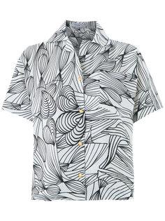 graphic print shirt Isolda