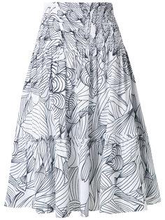 printed skirt Isolda