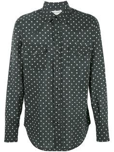 рубашка Western с принтом звезд Saint Laurent