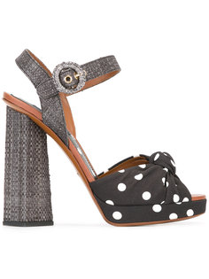 босоножки в горох Dolce & Gabbana