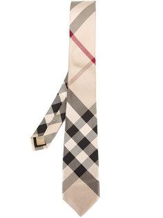 клетчатый галстук Burberry