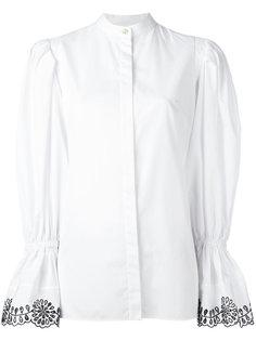 рубашка с расклешенными рукавами Alexander McQueen