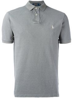 рубашка-поло с вышивкой логотипа Polo Ralph Lauren