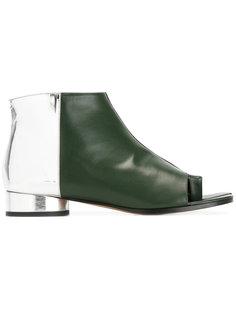 ботинки с открытым носком Maison Margiela