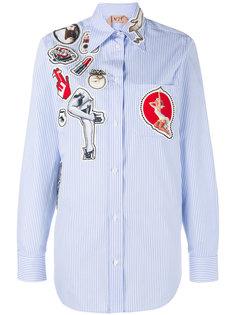рубашка с нашивками Nº21
