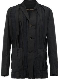 куртка с плиссировкой спереди Uma Wang