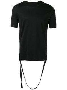 футболка с ремешками  Les Hommes