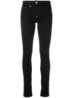 джинсы со шнуровкой Philipp Plein