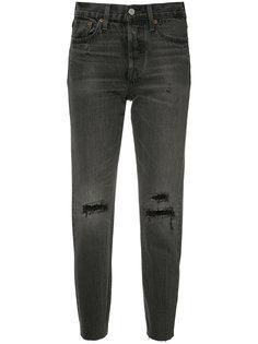 укороченные джинсы с рваными деталями Levis Levis®