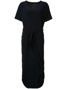 платье Diaper с короткими рукавами Norma Kamali