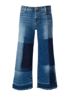 укороченные широкие джинсы  J Brand
