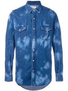 джинсовая рубашка с нагрудными карманами Saint Laurent