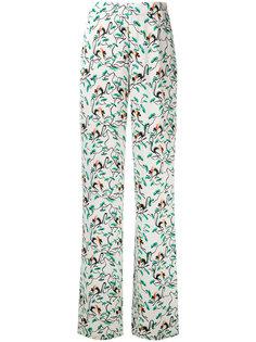 широкие брюки с узором Etro