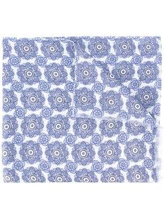 шарф с цветочным принтом Pal Zileri