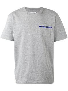 футболка с эмблемой Sacai