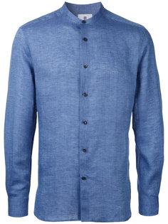 рубашка с воротником-стойкой Kent & Curwen