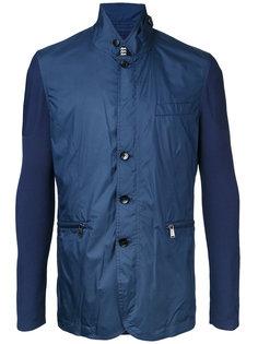 легкая куртка с контрастными рукавами Kent & Curwen