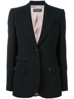 блейзер с карманами Dolce & Gabbana