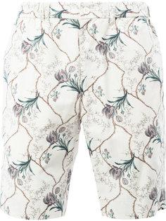 шорты с цветочным принтом 08Sircus