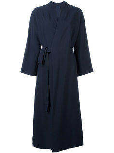 пальто с запахом в стиле кимоно Joseph