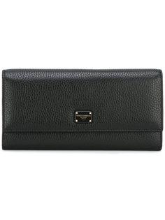кошелек в стиле минимализм Dolce & Gabbana