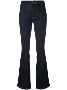 слегка расклешенные джинсы Givenchy
