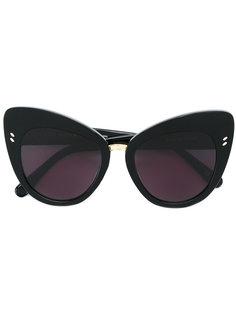 """солнцезащитные очки в оправе """"кошачий глаз"""" Stella Mccartney Eyewear"""