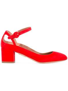 туфли на низком каблуке Aquazzura