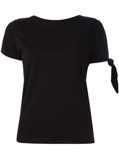 футболка с завязкой на узел JW Anderson