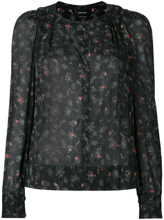 блузка с цветочным узором Isabel Marant