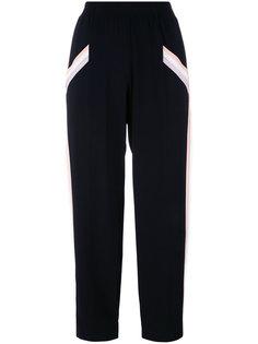 укороченные брюки свободного кроя Agnona