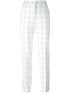 брюки с рисунком в виде решетки Essentiel Antwerp