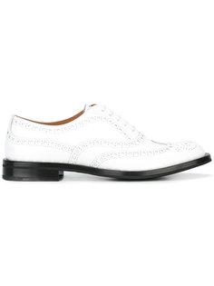 "туфли броги ""Allacciata"" Churchs"