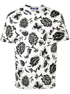 футболка с цветочным принтом Junya Watanabe Comme Des Garçons Man