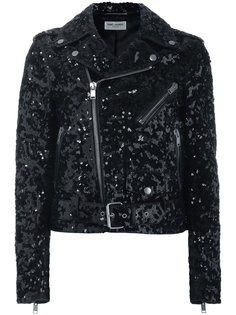 байкерская куртка Palettes Saint Laurent