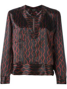 блузка с разрезом Isabel Marant