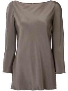 шелковая блузка с длинными рукавами Peter Cohen