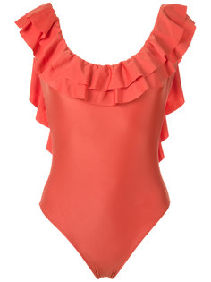 ruffled swimsuit Adriana Degreas