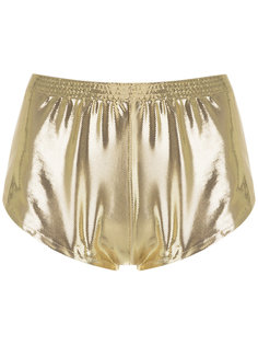 metallic shorts Adriana Degreas