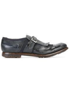 туфли монки с бахромой Churchs