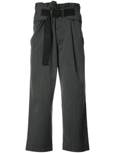 укороченные брюки свободного кроя Ann Demeulemeester