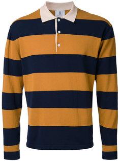 полосатая футболка-поло Kent & Curwen